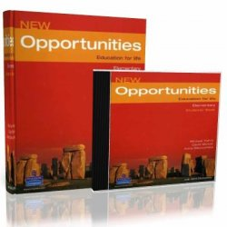 Michael Harris. New Opportunities Elementary (с аудиокурсом)