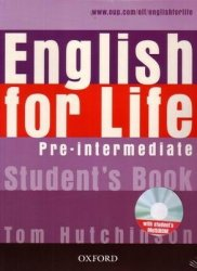 T. Hutchinson. English for Life Pre-Intermediate (с аудиокурсом)