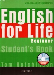 T. Hutchinson. English for Life Beginner (с аудиокурсом)